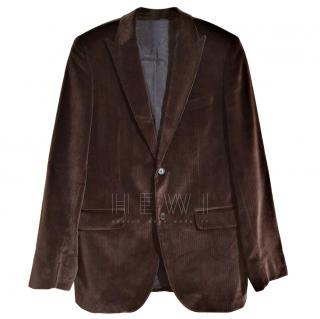 Boss brown corduroy blazer