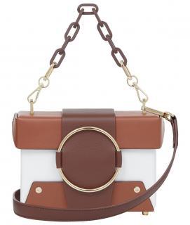 Yuzefi Asher bag in bianco/rust