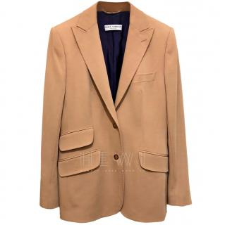 Dolce & Gabanna Tailored Wool Blazer