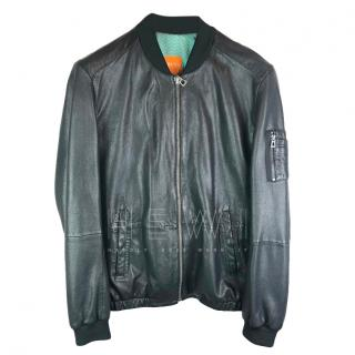 Boss Orange Leather Jacket
