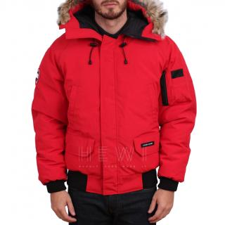 Canada Goose Red Chilliwack Jacket