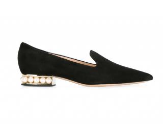 Nicholas Kirkwood Casati Pearl heel loafers