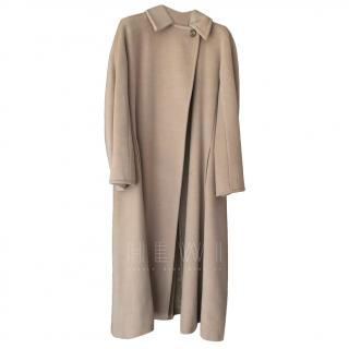 Max Mara beige wool & cashmere coat