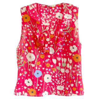 Marella Floral Sleeveless Blouse