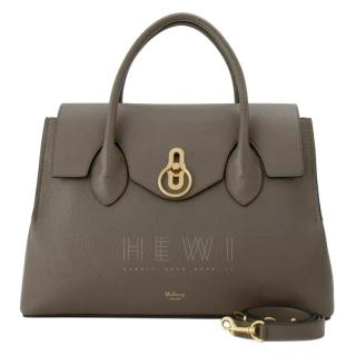 Mulberry Clay Leather Seaton Tote Bag
