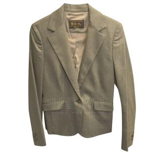 Loro Piana Grey Tailored Jacket