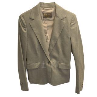 Loro Piana Grey Tailored Jacket