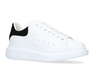 Alexander McQueen Black & White Platform Sneakers