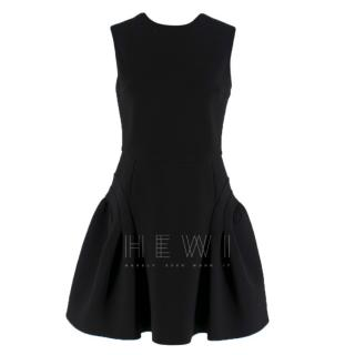 Miu Miu Black Sleeveless Mini Dress