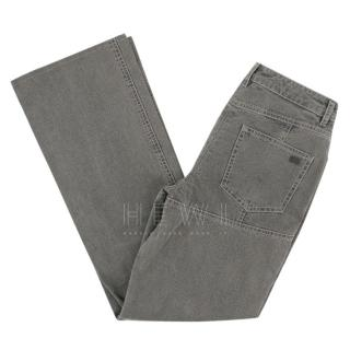 Chanel grey bootcut jeans