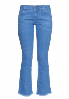 Stella McCartney Frayed Hem Jeans
