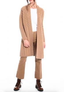 Max Mara Camel Wool & Cashmere Cardigan