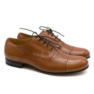 Bally Men's Brown Leather Oxford Brogues