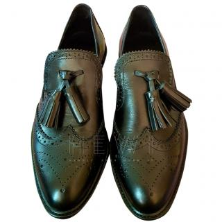 Burberry Black Leather Brogues