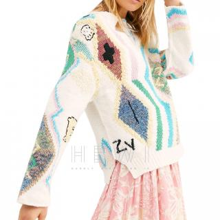 Zadig & Voltaire Sonny Kilim Sweater - Current Season