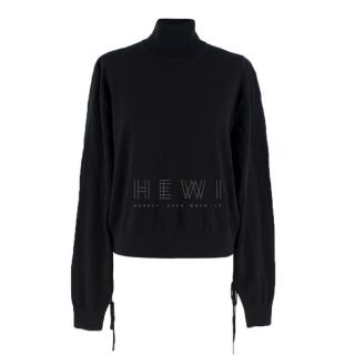 JW Anderson X Uniqlo black roll neck jumper