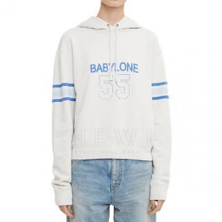 Saint Laurent Babylone 55 hoodie