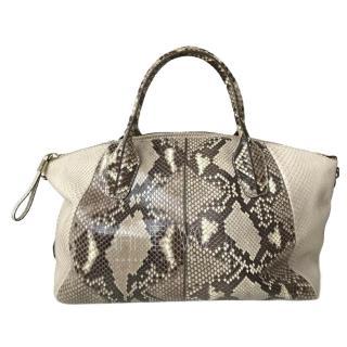 Tod's DD Python Tote Bag