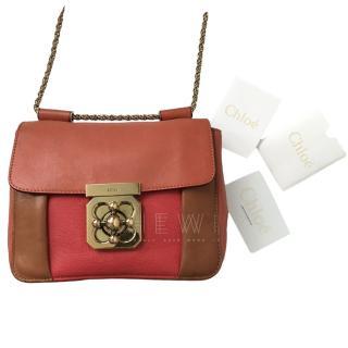Chloe Tricolour Elsie Shoulder Bag