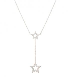 Tiffany & Co. Diamond Star Drop Necklace