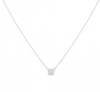 Tiffany & Co. Encrusted Pendant Platinum Necklace