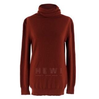 Loro Piana Baby Cashmere Roll Neck Sweater