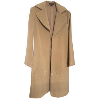 Theory Wool Camel Coat
