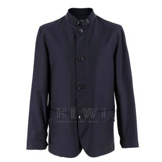 Ermenegildo Zegna Elements Navy Wool Jacket