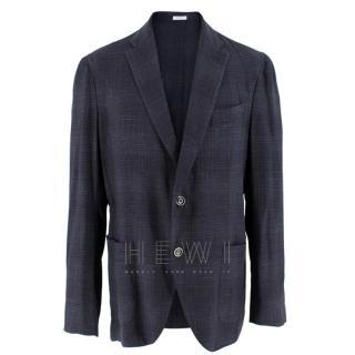 Boglioli Wool Blend Men's Single Breasted Jacket