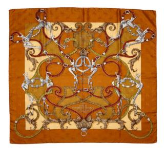 Hermes Linstruction du Roy Silk Scarf 90