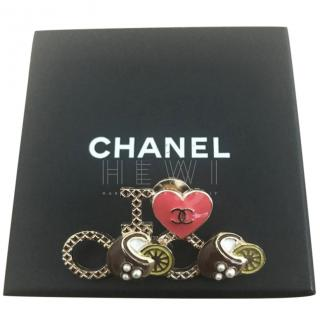 Chanel Limited Edition Charms Brooch