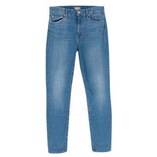 Mother skinny blue jeans