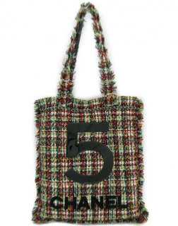 Chanel No5 Tweed Limited Edition Large Tote