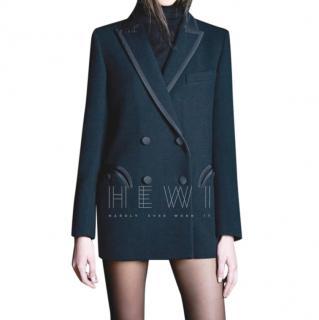 Blaze Milano Black Resolute Wool Blazer