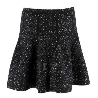 Antonio Berardi Virgin Wool Blend Mini Skirt