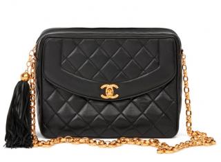 Chanel Vintage Black Camera Bag