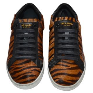 Saint Laurent tiger pro court classic sneakers