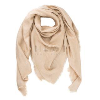 Louis Vuitton Monogram Silk and Wool Shine Shawl