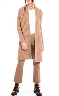 Max Mara Wool & Cashmere Cable Knit Cardigan