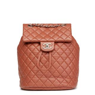 Chanel Brick Quilted Urban Spirit Backpack