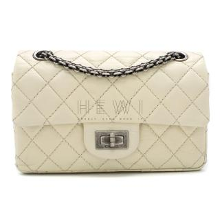 Chanel Cream Lambskin Mini Reissue 2.55 Bag