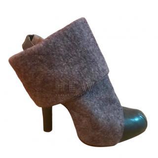 Vivienne Westwood Felt Ankle Boots