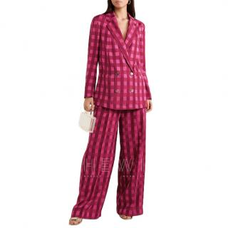 Temperley London Stirling Red & Pink Suit