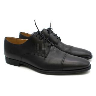 Bally Men's Black Leather Oxfords