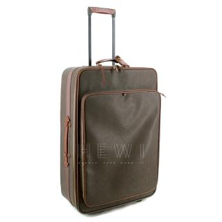 Mulberry Scotchgrain Hold Luggage