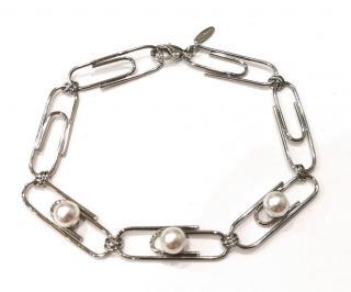 Joomi Lim Paperclip Necklace