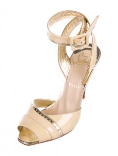 Christian Louboutin Escatin 100 Patent Sandals