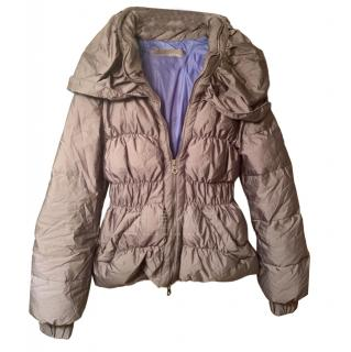Ermanno Scervino Grey Down Jacket