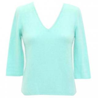 Malo Cashmere Mint Green Pullover
