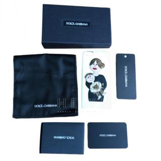 Dolce & Gabbana Viva la Mama family patch phone case